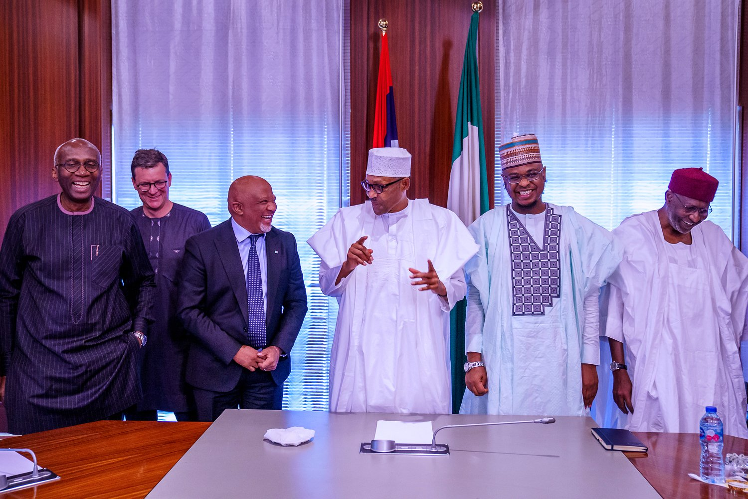 I am pleased to hear of your progress in Nigeria, Buhari tells MTN