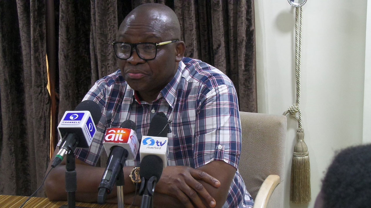 Claim I had concluded plans to dump PDP for APC false, says Fayose